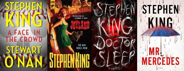 A Face in the Crowd, Joyland, Doctor Sleep, Mr. Mercedes