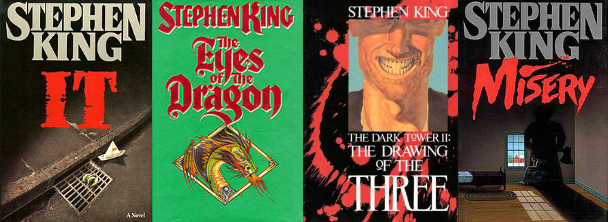 It, The Eyes of the Dragon, The Dark Tower: The Drawing of the Three, Misery
